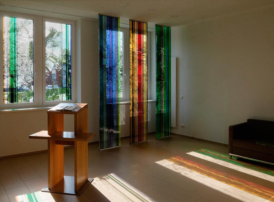 Glasgestaltung in der Architektur » Krankenhaus · Hamburg